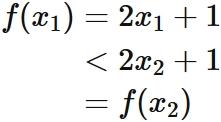 単調 増加 狭義 r