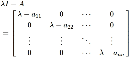 対角行列の性質 (証明付) - 理数...