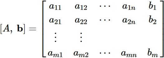 連立一次方程式の解の存在条件 /...